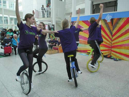 Circaso Circuslessen in Den Haag