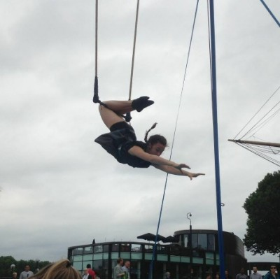Trapeze workshop herfstvakantie circus