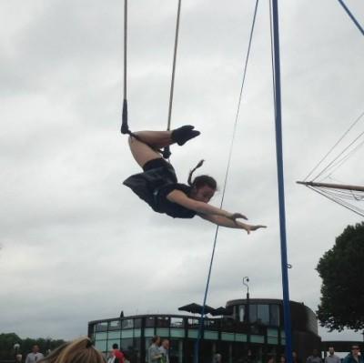 Trapeze workshop herfstvakantie circus